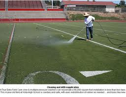 Athletic Turf Cleaning